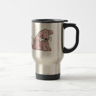 DOG WITH BONE COFFEE MUGS