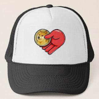 Doge Meme Love Dogecoin Trucker Hat