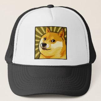 Doge Meme Square Doge Self Portrait Trucker Hat