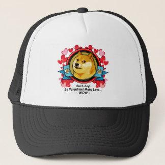 Doge Meme Such Day So Valentine Trucker Hat