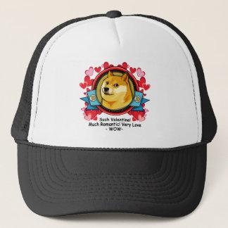 Doge Meme Such Valentine Much Romantic Trucker Hat