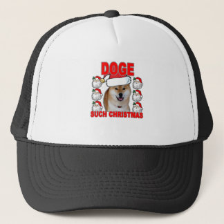 Doge Such Christmas Tee Shirts JK.png Trucker Hat