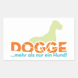 Dogge - mehr als nur ein Hund Stickers