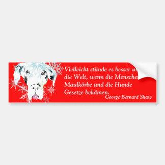 Doggenhaus Car Bumper Sticker