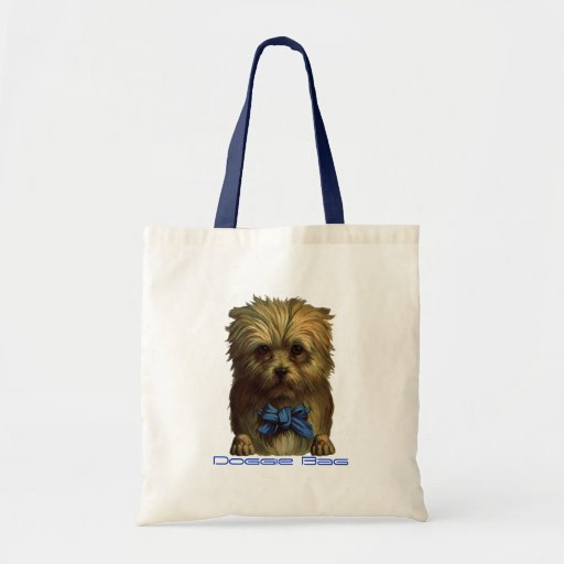 Doggie Bag Treat Travel Fashionable Tote Sack Bags