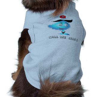 "Doggie T-shirt    ""Call me Sam"""