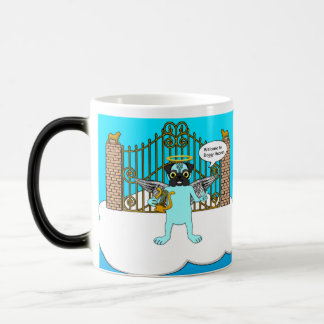 Doggy Heaven/Doggy Hell Magic Mug