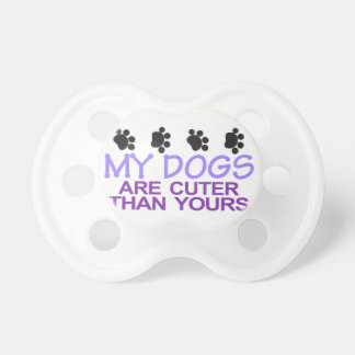 Dogs Are Cuter Pacifiers