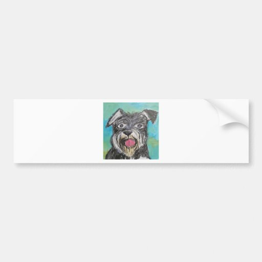 dogs by eric ginsburg bumper sticker