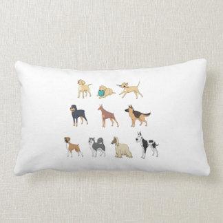 Dogs Lumbar Cushion