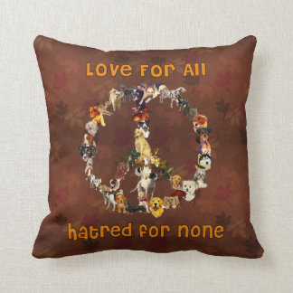 Dogs Of Peace Cushion