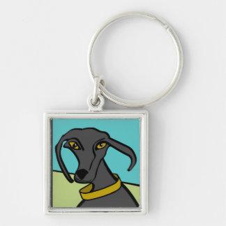 Dogs Rock Keychain