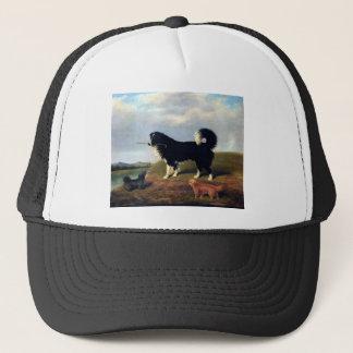 Dogs Spaniel Norfolk Terrier Pets painting Trucker Hat