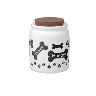 Dog's Treats Candy Jars