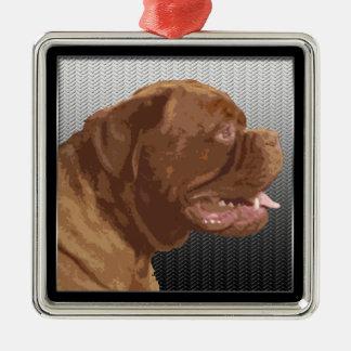 Dogue de Bordeaux Christmas Ornament