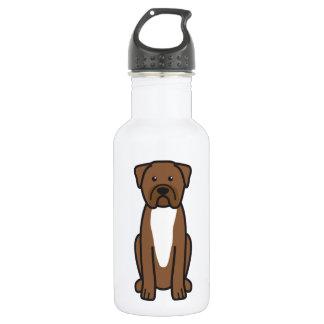 Dogue de Bordeaux Dog Cartoon 532 Ml Water Bottle