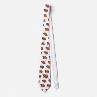 Dogue de Bordeaux Flag Tie