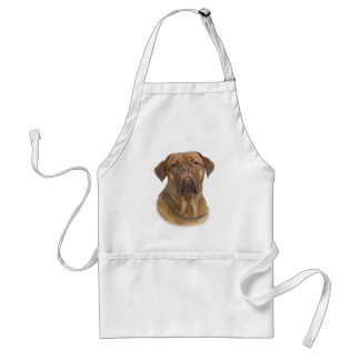Dogue De Bordeaux Portrait Standard Apron