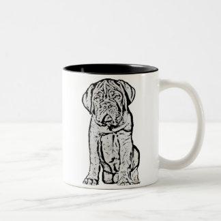 Dogue de Bordeaux puppy mug