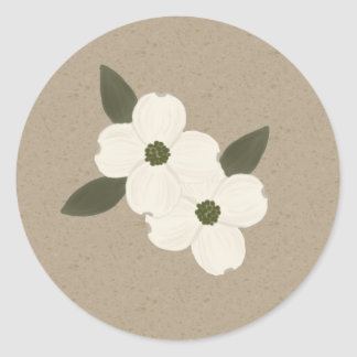 Dogwood Blossoms Stickers