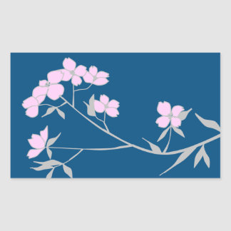 Dogwood dog wood blossoms stickers