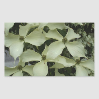 Dogwood Rectangular Sticker