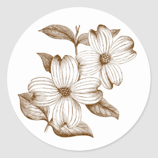 Dogwood Sticker