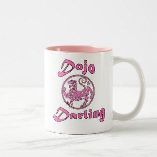 Dojo Darling Mug-Pink 2 tone