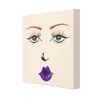 "Doll Face ""Rock Girl Chic"" Wall Art"