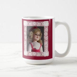 Doll Lovers Have Fun Skater Doll Christmas Mug