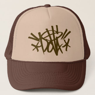 DOLLA brown tag hat