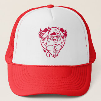 DOLLA red devil hat