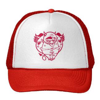 DOLLA red devil hat