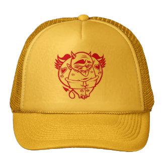 DOLLA RED DEVIL hat 2