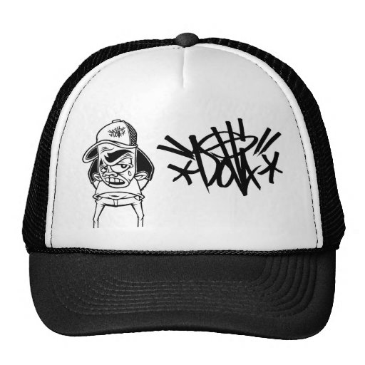 dolla tag hat w/character