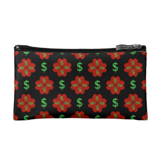 Dollar Sign Graphic Pattern Cosmetics Bags