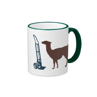 Dolly llama coffee mug