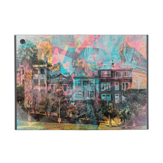 Dolores' park Painted ladies in San Francisco Cover For iPad Mini