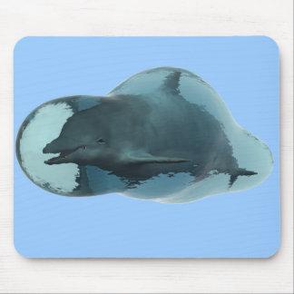 Dolphin bubble mousepad