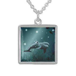 Dolphin Dream Sterling Silver Necklace