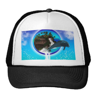 Dolphin Mesh Hats