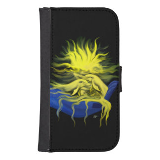 Dolphin Love Samsung S4 Wallet Case