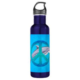 Dolphin Peace 710 Ml Water Bottle