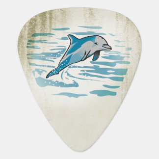 Dolphin Retro Guitar Pick Plectrum
