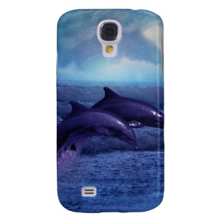 Dolphins fun and play galaxy s4 case