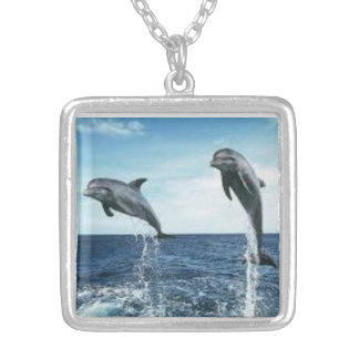 dolphins large necklace