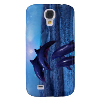 Dolphins playing in the ocean galaxy s4 case