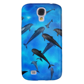 Dolphins swimming in the ocean galaxy s4 case