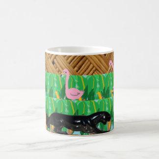 Domestic Not Basic Tiki Skulking Leopard Mug