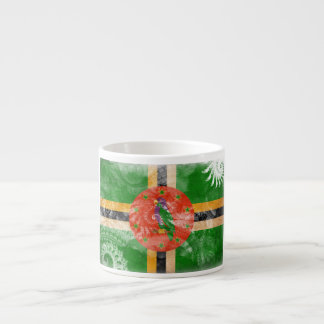 Dominica Flag Espresso Mug